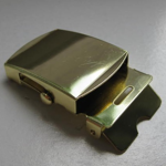 "1.25"" Brass Military Buckle"