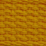 "1"" Gold Lightweight Cotton Webbing"