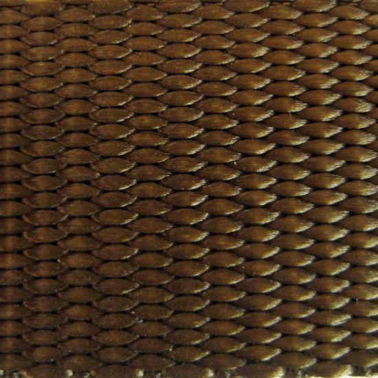 "1"" Brown Heavyweight Nylon Webbing"