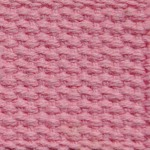 "1.25"" Pastel Pink Heavyweight Cotton Webbing"